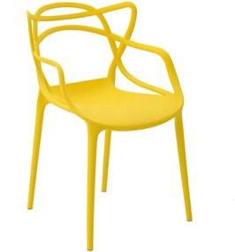 Cadeira Allegra Infantil Pp Amarela Rivatti
