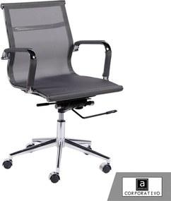 Cadeira Giratória Cinza