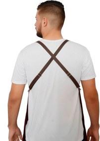 Avental Lucinoze Camisetas  Liso Brim Preto
