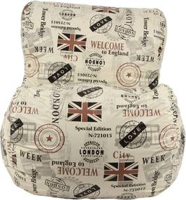 Puff Relax Nobre Love London Stay Puff Bege