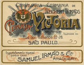 Placa Cervejaria Germânia Victoria