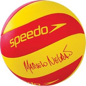 Bola de Vôlei Beach Volley Pro Amarelo e Vermelho - Speedo