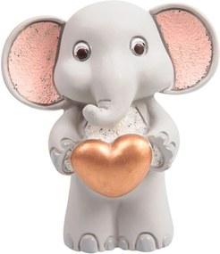 Mini Escultura Elefante em Pé