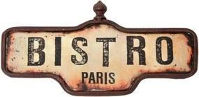 Placa Decorativa Bistrô Paris
