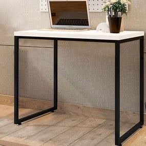 Escrivaninha para Quarto/ Escritório Home Office Porto Branco - Decorar Estofados