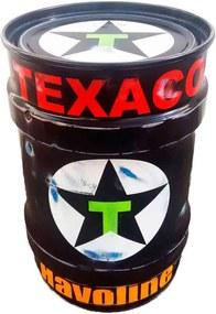 Tambor Decorativo Pequeno Texaco Preto
