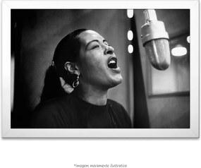 Poster Billie Holiday (60x90cm, Apenas Impressão)