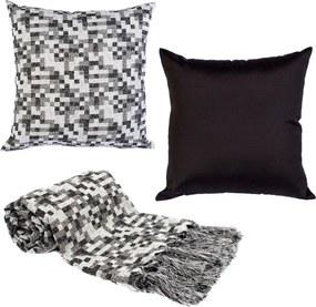 Manta decor p/sofá 3x1,4m e 2capas almofada pixelk169