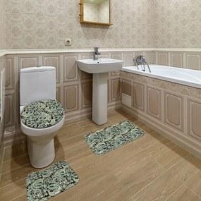 Jogo de Banheiro Arabesco PretoÚnico