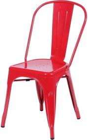 Cadeira de Jantar Retrô OR Design Vermelho