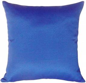Capa de Almofada Decorativa Lisa Azul 45x45cm