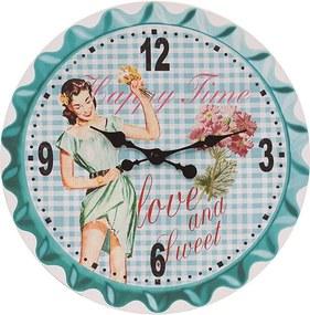 Relógio de Parede Happy Time