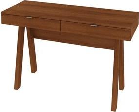 Mesa Para Escritório ME4128 Amendoa - Tecno Mobili