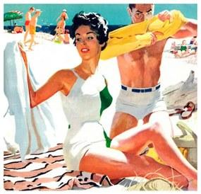Quadro Poster Meyers Robert Ano 1954 44 X 44 Cm