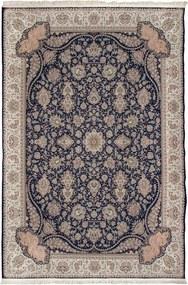 Tapete Iraniano Kashan Interior Azul 150x100