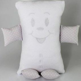 Naninha (Travesseiro) Pequeno Cuca Criativa Prata