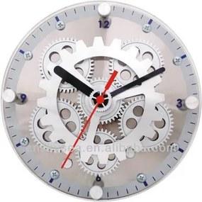 Relógio ENGRENAGEM parede metal    diâm 31 cm   Ilunato FP0004