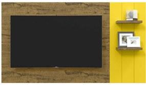 Painel para TV Itália Nature com Amarelo - Patrimar Móveis