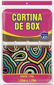 Cortina Box Polietileno 1,35x1,80m Un/1