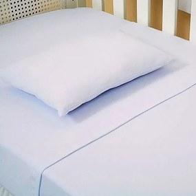 Lençol de Berço 1,0m x 1,5m 100% Algodão - Profitextil Branco