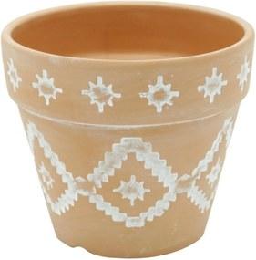 Vaso de Cerâmica Terracota Incas Urban Home