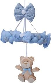 Móbile De Berço Ursinhos Fofuchos Azul