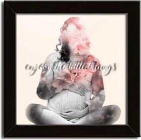 Quadro De Recordações Meu Primeiro Quartinho Gravidez Rosa