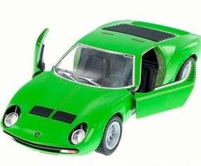Miniatura 1971 Lamborghini Miura Escala 1:34 Verde