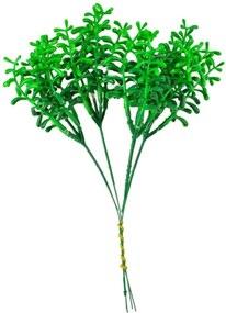 Flor Permanente Verde Escuro Com Verde Claro
