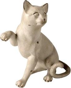 Estatueta Gato White Loft