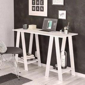 Mesa Escrivaninha Cavalete Delta Branca