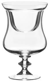Taça Cristal P/ Coquetel De Camarão C/ Tampa