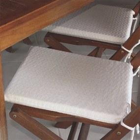 Assento para Cadeira Bland - 40 x 40 cm Natural