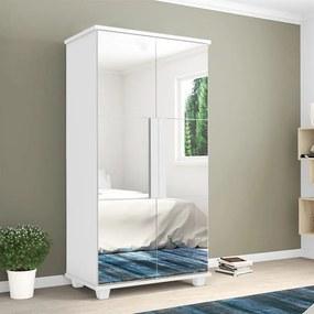 Sapateira Milleni C/ Espelho Branco