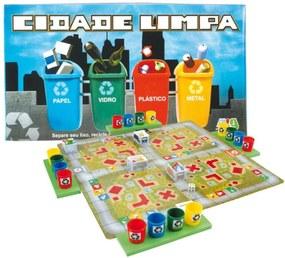 Jogo Nig Brinquedos Cidade Limpa Multicolorido