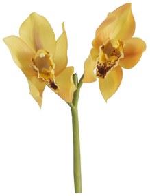 Orquidea Cymbidium Pick 25 Cm - Amarelo