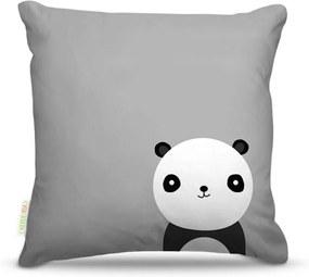 Almofada Nerderia Panda Multicolorido