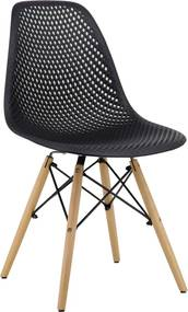 Cadeira Eloa Preta Rivatti