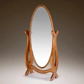 Espelho Basculante Magnific Madeira Maciça -