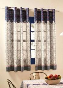 Cortina Basic Azul 260x140 cm