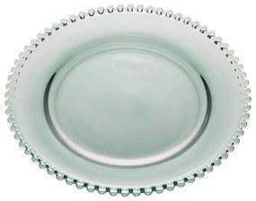 Prato Sobremesa Cristal Pearl Verde 20cm 28422 Wolff