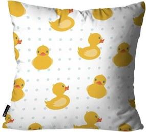 Almofada Infantil Pato Branca35x35cm