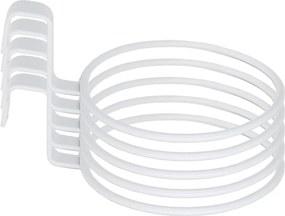 Kit 5 Suporte Anel Treliça Branco Vaso Auto Irrigável 12cm