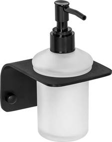 Porta Sabonete Líquido de Parede para Banheiro (Dalí Preto)