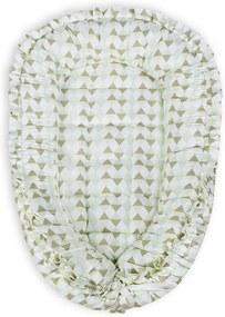 Ninho para Bebê Losango Verde