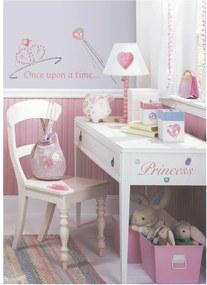 Adesivos de Parede RoomMates Colorido Princess Peel & Stick Applique