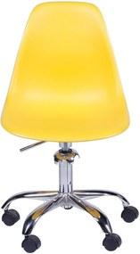 Cadeira Oia Decor Polipropileno Amarelo