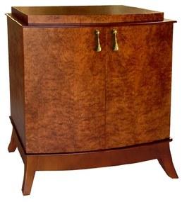 Cômoda Lunardi com Portas Madeira Maciça Design Clássico