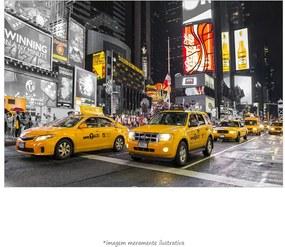 Poster The Times Square - Taxi Amarelo (60x90cm, Apenas Impressão)