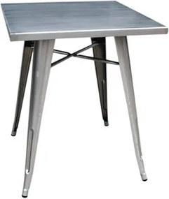 Mesa de Metal Quadrada Iron Vermelho
